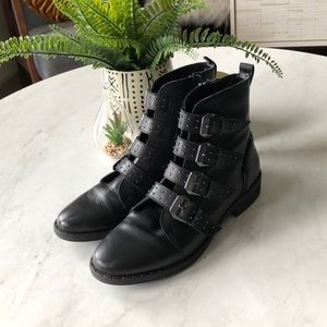 Black Steve Madden Ankle Boot